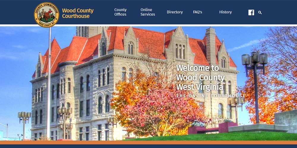 Wood County, WV Launches New Website